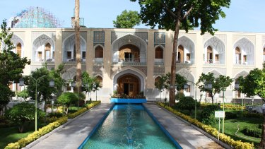 Shah Abbasi Hotel in Isfahan.
