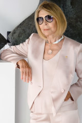 The fashion icon celebrated 55 years in fashion.
