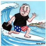 Joe Hockey. Illustration: John Shakespeare