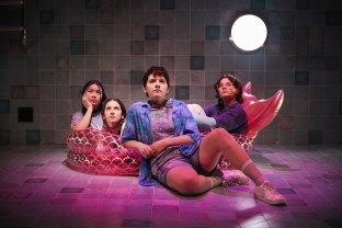 An Dang, Allegra Di Lallo, Frankie Willcox and Ella Simonds in The Mermaid at La Mama