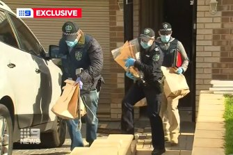 A screenshot from a video showing one of the raids.
