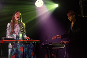 Weyes Blood performs at Sydney Festival.