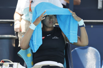 Naomi Osaka was beaten by Maria Sakkari and missed the chance to take the world No.1 ranking from Ash Barty.
