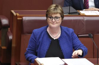 Defence Minister Linda Reynolds has been discharged from hospital after spending two nights under observation for a heart condition.