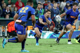 Ryan Louwrens in action for Western Force.