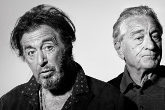 Al Pacino and Robert De Niro lead an all-star cast in Martin Scorsese's The Irishman, one of Netflix's leading awards contenders.