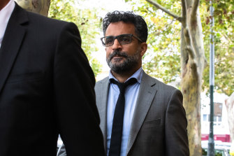 Chiropractor Riaz Behi on trial for sexual assault of a patient at Darlinghurst court.
