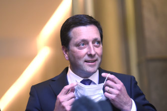 Matthew Guy was a controversial planning minister between 2010 and 2014.