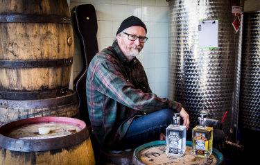 Craig Westwood started Cedar Fox Distilling late last year.