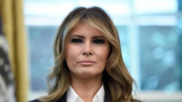 US First Lady Melania Trump wants to visit Australia.