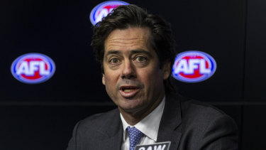 'People look to us': McLachlan says AFL has social standards role