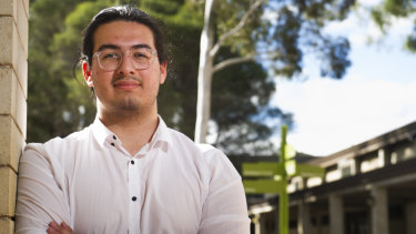 First year commerce student Hevn Piran says he would consider a switch to part-time studies