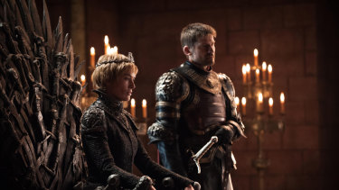 Game of Thrones: Queen Cersei Lannister with her brother, Jaime Lannister.