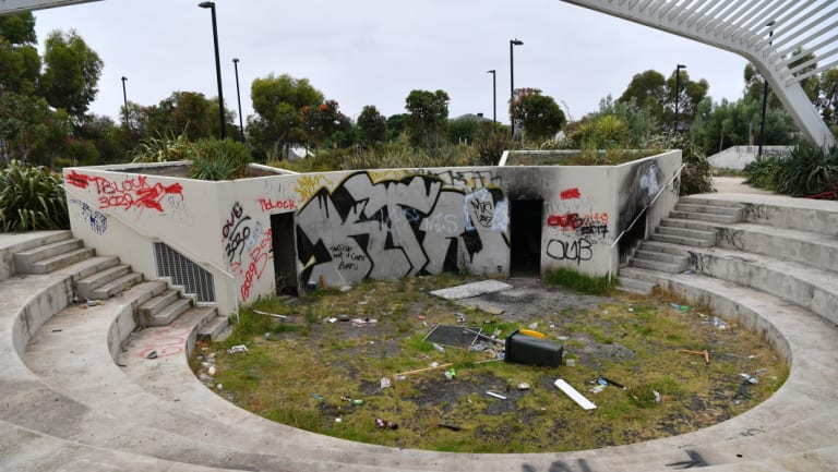 Tarneit's Ecoville Community Park  was destroyed by local youths.