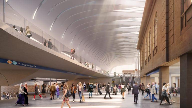 Artist's impression of Sydney's Central Station redevelopment.