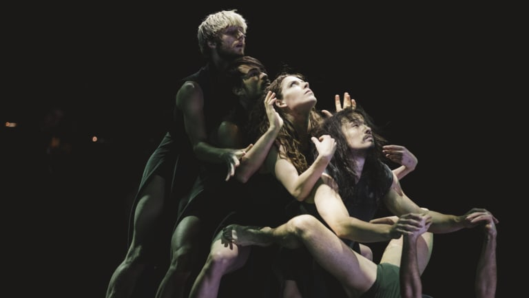 A scene from Australian Dance Theatre's <i>The Beginning of Nature</i>.