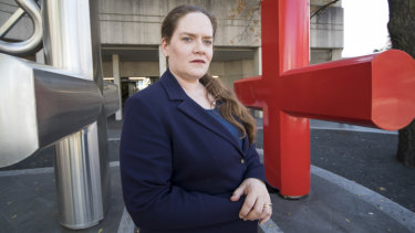 Canberra psychiatrist Dr Ingrid Butterfield, who is concerned about records subpoenas compromising patient care.