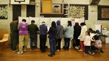 """There has been """"remarkable growth"""" in pre-poll voting, according to the Australian Electoral Commission."""