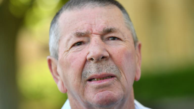 Former chairman of selectors Rod Marsh.