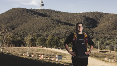 Canberra ultra-triathlete Laura Marshall broke a world record last month.