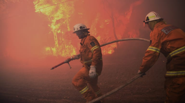 Fire season is starting early for parts of NSW.