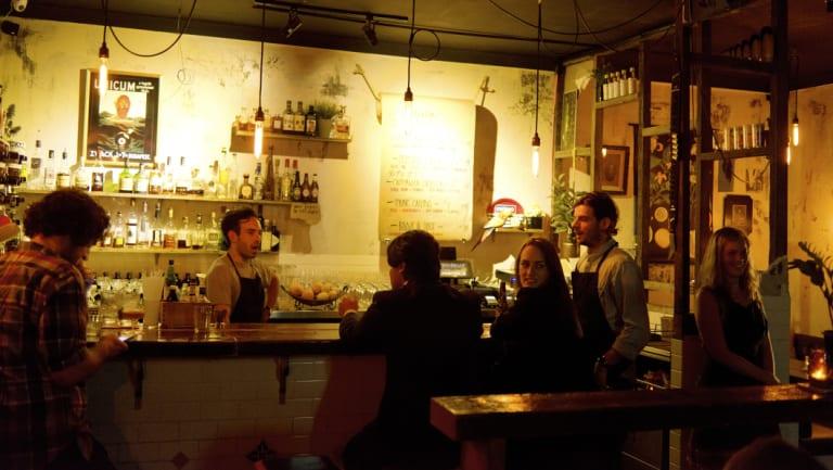 Bulletin Place: Sydney's top bar at the awards.