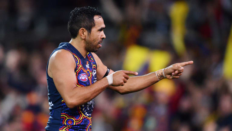 Adelaide forward Eddie Betts.