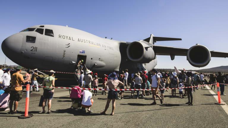 The Royal Australian Airforce's C-17A Globemaster.