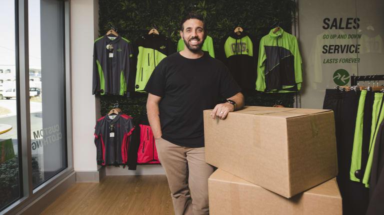 Canberra A-League bid team leader Michael Caggiano.