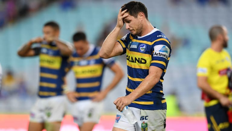From bad to worse: the Eels' season is in freefall.