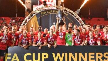 Cup conundrum: If the A-League ends up with two new teams next season, they won't be required to participate in the 2019 FFA Cup.