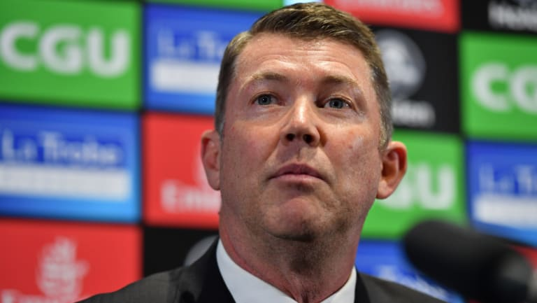 Gary Pert has been named as Melbourne's new CEO.