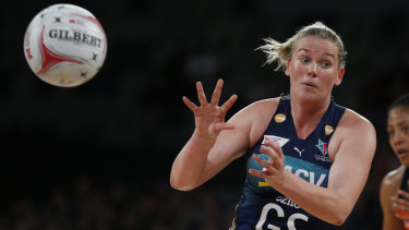 Caitlin Thwaites has been named in the Netball World Cup squad.