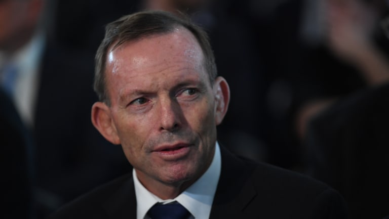 """Mr Abbott wrote about his confidence regarding """"the difference that could be made by small numbers of committed and capable people""""."""