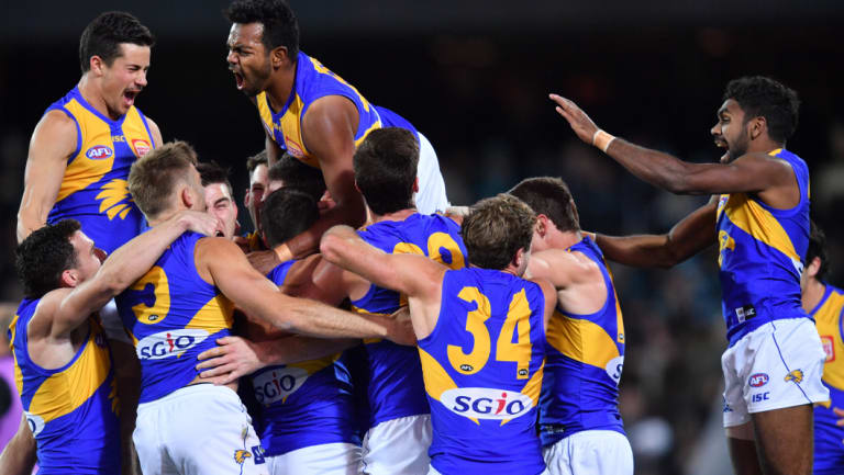 West Coast's post-siren win against Port typifies the belief of the players in 2018.