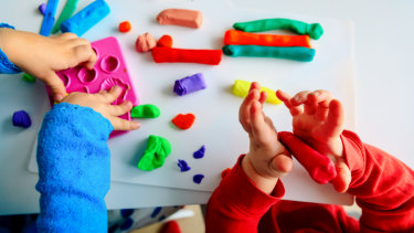 University-educated childcare workers are pursuing pay rises of up to 49 per cent.