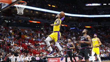 97d38584be7a He set the record for most points scored by a Lakers player against Miami. LeBron  James scored 51 points against his former side.