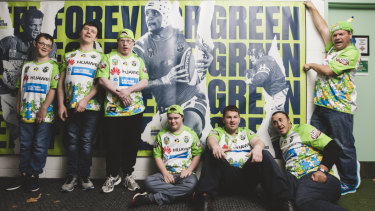The Canberra Raiders' Super Squad has benefited from the foundation.