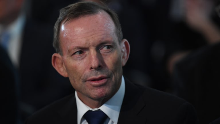 """Tony Abbott described AGL's rejection of Alinta's offer as """"a strike against the national interest by a big business""""."""