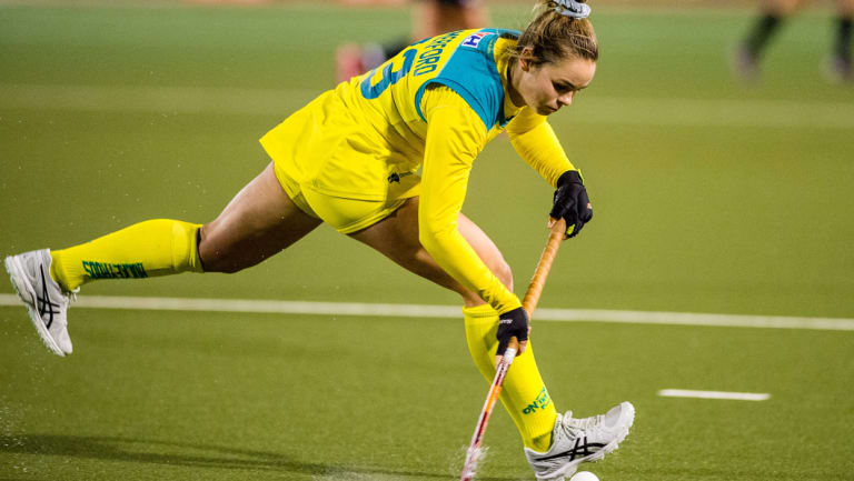 Kalindi Commerford believes the Canberra Strikers can win their first AHL this year.