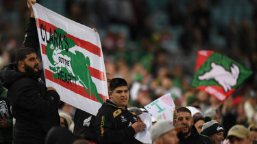 Strength in numbers: Souths fans should be out in force at ANZ Stadium on Saturday night.