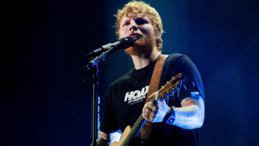 Ed Sheeran broke ticketing records with his recent Australian tour.