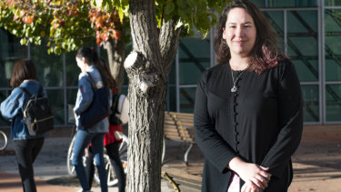 ANU Postgraduate and Research Students Association president Alyssa Shaw has called on universities to gather more data.