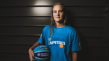 Kristy Wallace has arrived in Canberra to start working with the Capitals.