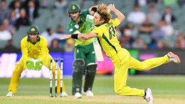 More question marks: Adam Zampa struggled in Adelaide.