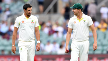 Catch 22: rushing any World Cup return for Mitchell Starc or Josh Hazlewood could also jeopardise Australia's Ashes campaign.