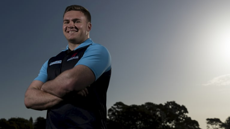 Bred from clubland: New NSW Waratahs signing Rory O'Connor.