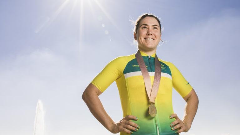 Commonwealth Games gold medalist Chloe Hosking.