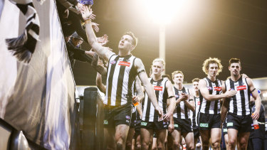 The Pies have struggled to put opposition teams to the sword this season.