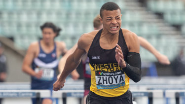 Remember the name: Zhoya has blitzed his track and field events at the national championships.